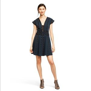 Zac Posen for Target - Snap Detail Mini Dress